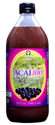 The ONLY 100% Pure, Wild-Harvested Organic Acai Juice Product on the Market!