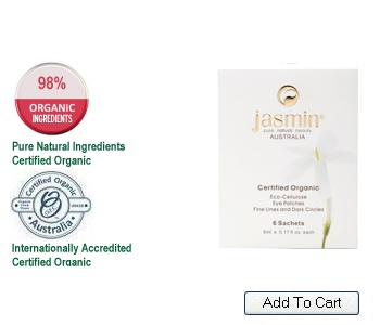 Jasmin Eco-Cellulose Hydrating & Fine-Line Eye Patches