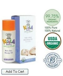 Koala Rub-A-Bub Baby Massage Oil